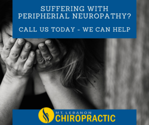 Peripheral Neuropathy is something we could help you with.